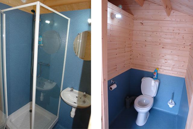 Shower / Toilet Cabin